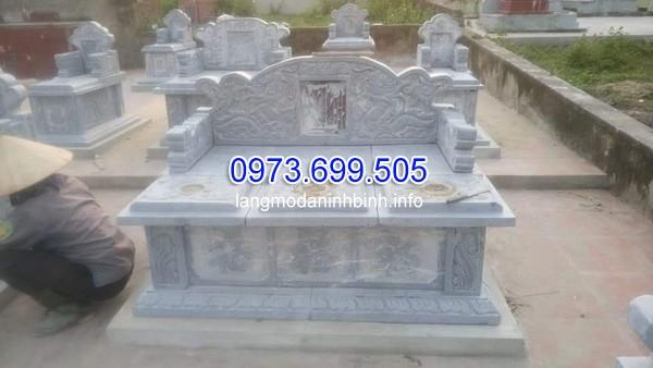 giá mộ đá đôi