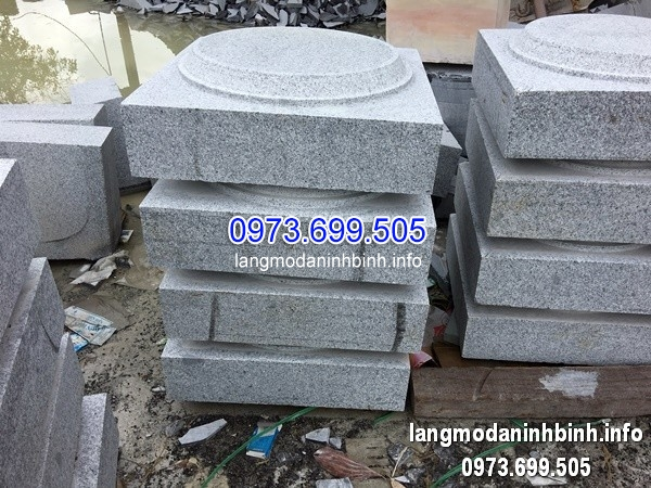 Mẫu đá kê chân cột hình vuông giá rẻ