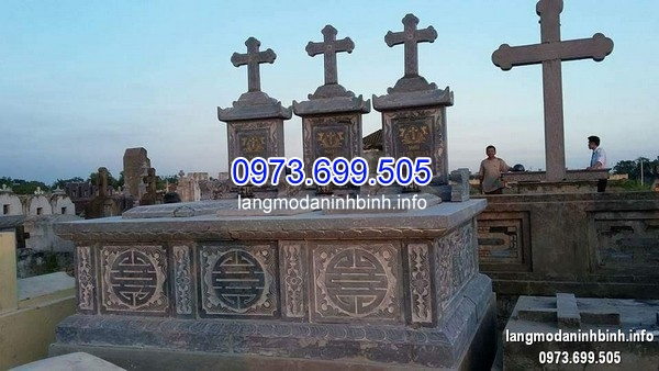 Mẫu mộ đá công giáo tam sơn 2019