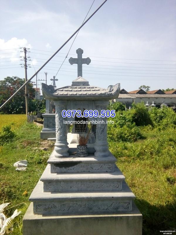 Mẫu mộ đá công giáo tam sơn đẹp