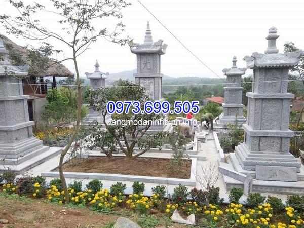 Lắp đặt mộ ốp đá granite màu đen ở Lâm Đồng giá rẻ