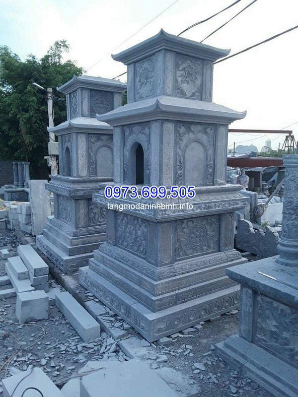 Lắp đặt mộ đá 2 mái ở Lâm Đồng chất lượng
