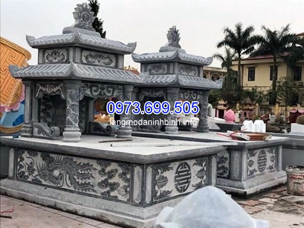 Nhận lắp đặt xây mộ đá hình tròn ở Lâm Đồng uy tín chất lượng giá rẻ
