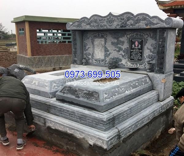 Thiết kế mộ đá đục ở Lâm Đồng chất lượng