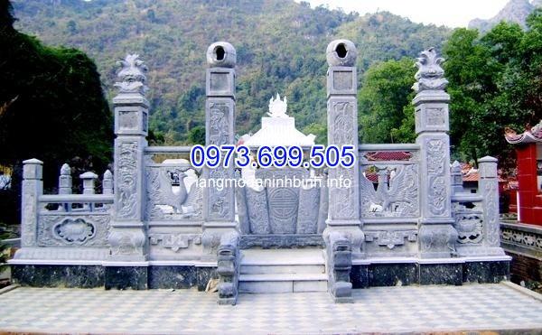 Thi công mộ đá ốp kim sa ở Nghệ An chất lượng