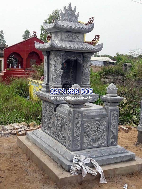 Nhận thiết kế thi công mộ đá 3 mái ở Nghệ An uy tín chất lượng giá rẻ