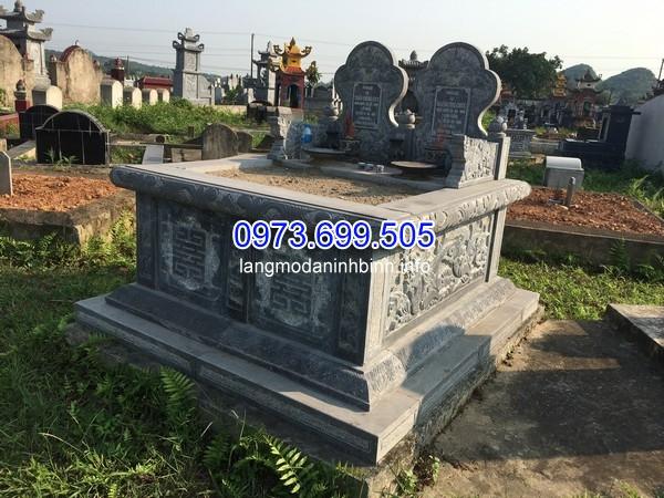 Lắp đặt xây mộ đơn giản đá ở Nghệ An