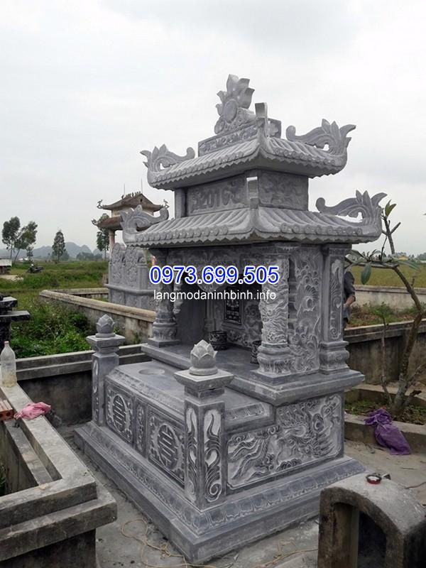 Thiết kế mộ đá ong ở Thái Nguyên giá rẻ