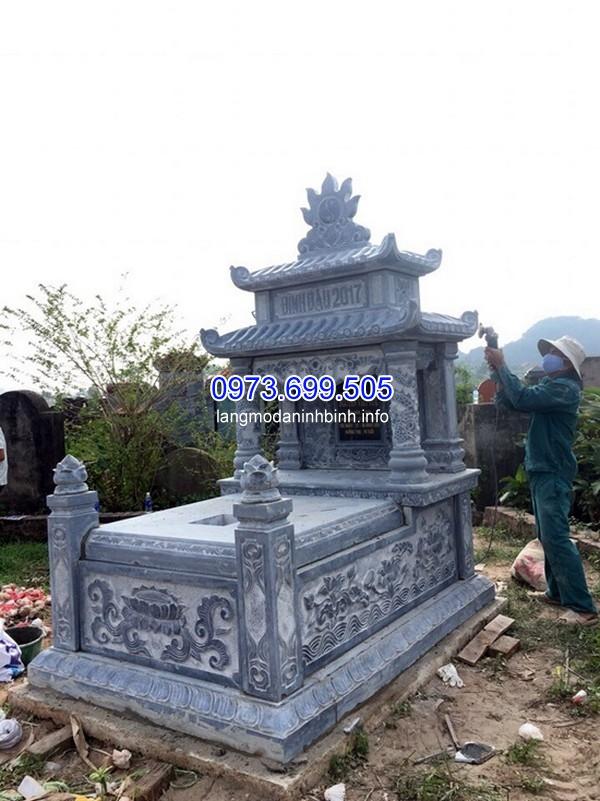 Thiết kế mộ đá đục ở Thái Nguyên chất lượng