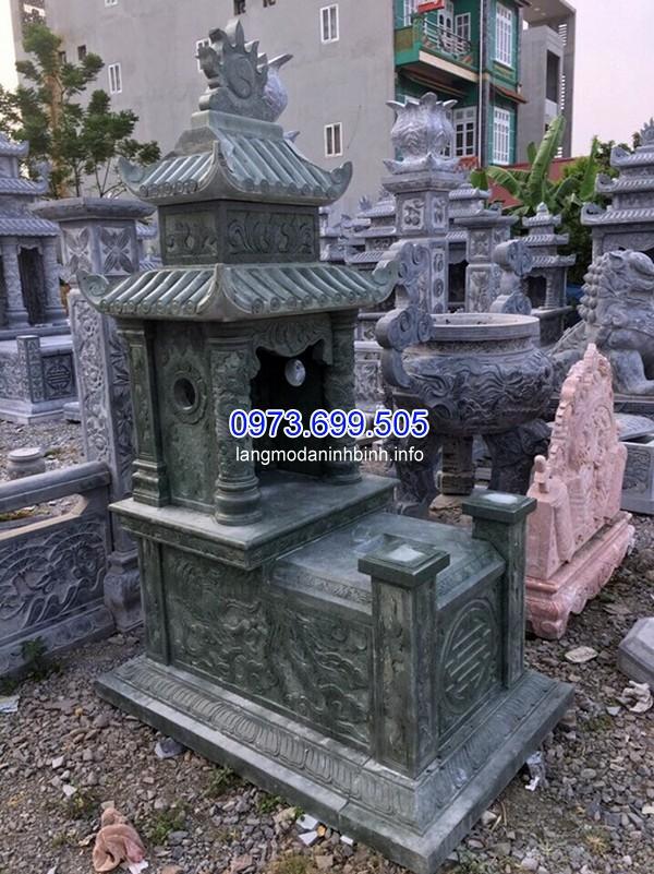 Thi công mộ đá bành ở Thái Nguyên giá rẻ