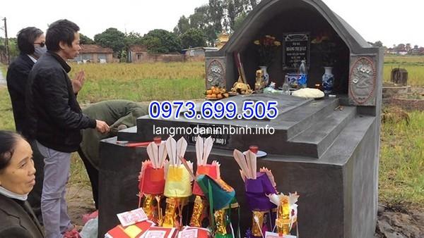 Chuẩn bị lễ xây mộ mới