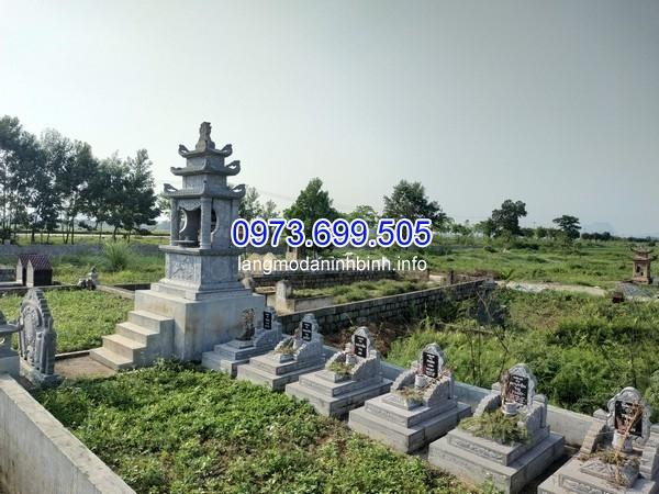 Mẫu lăng mộ gia tộc đẹp
