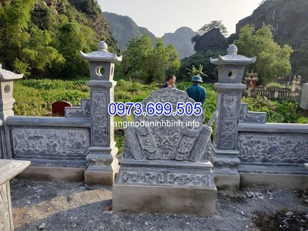 mẫu lăng mộ gia tộc bằng đá