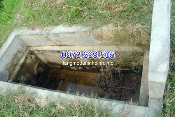 Xây mộ trước khi chết cho người còn sống ở Yên Lạc, Vĩnh Phúc