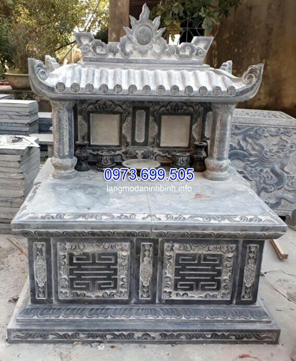 Mẫu mộ xây sẵn cho người sống