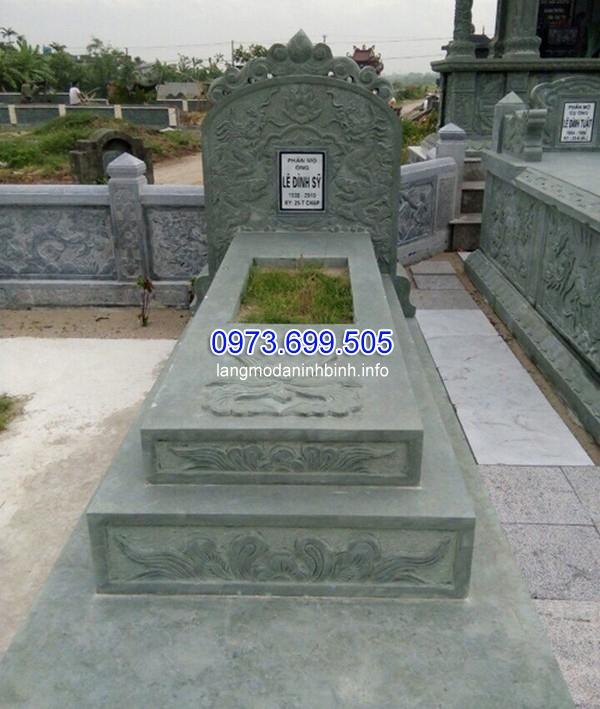mộ xây đơn giản, mộ đá xây đơn giản