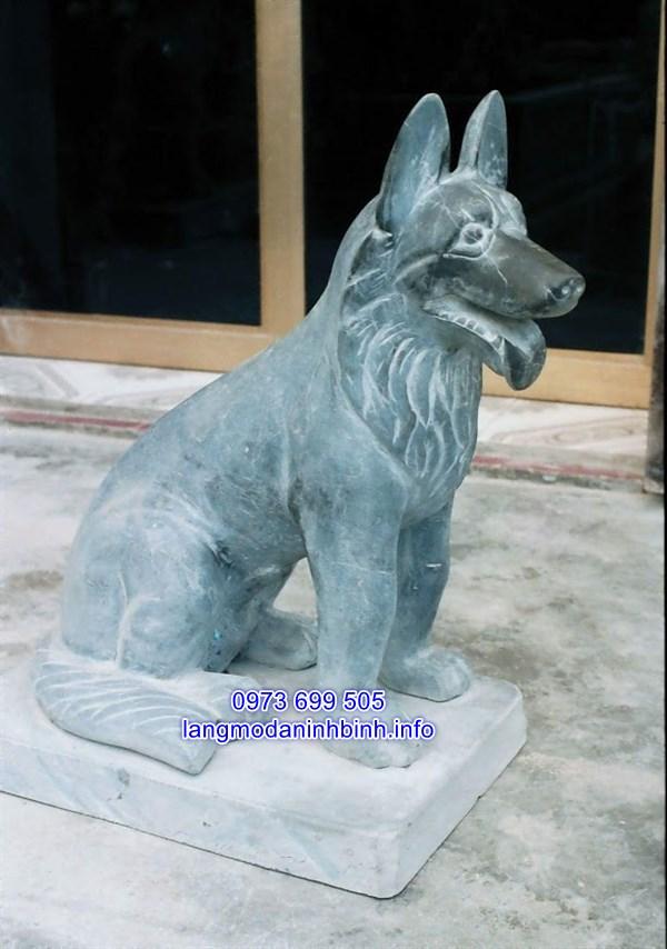 Cách đặt tượng chó đá trong nhà
