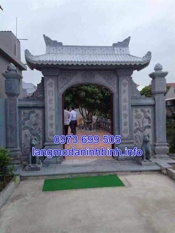 Cổng tam quan đá đẹp chất lượng cao giá rẻ