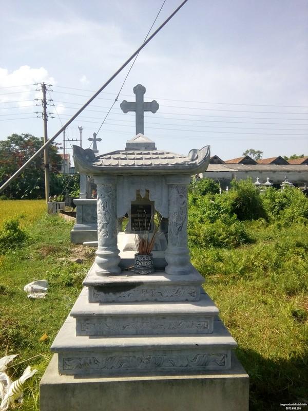 Mẫu mộ xây đẹp đơn giản