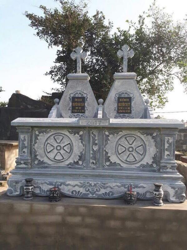 Các kiểu mộ đá công giáo đẹp
