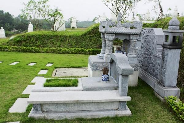 Mẫu mộ đá tự nhiên đẹp