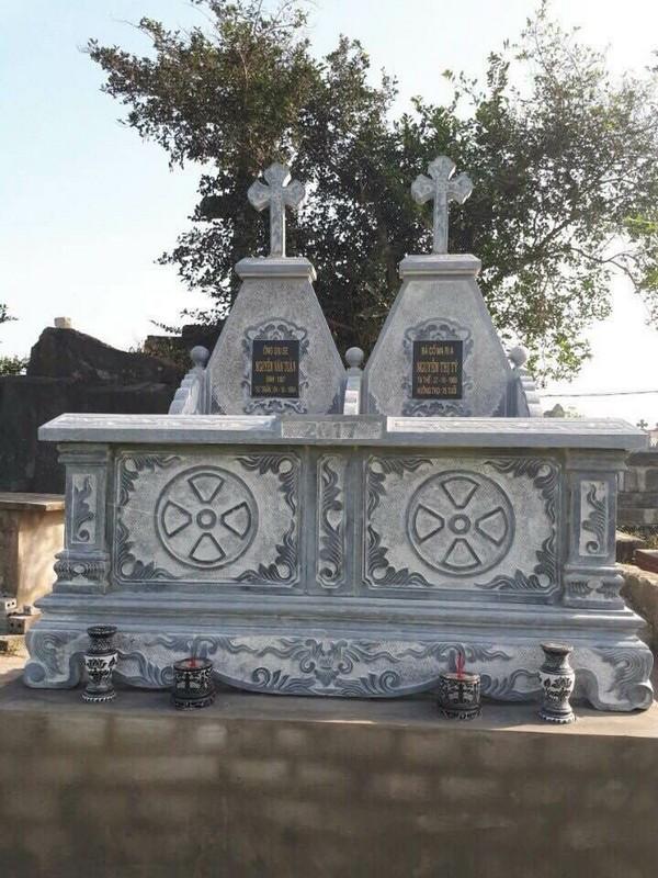 Kiểu mộ đá công giáo đẹp