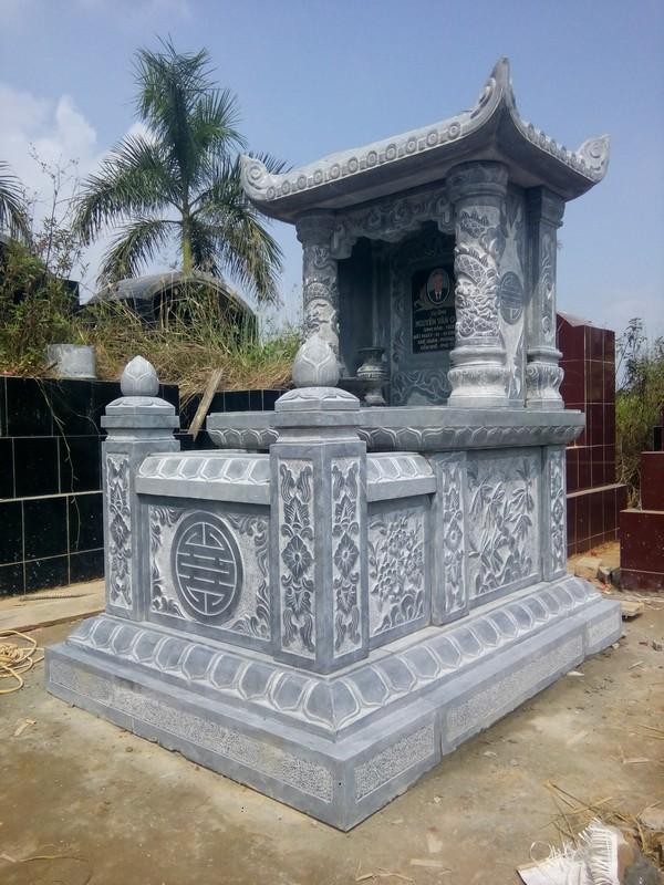 Mẫu ngôi mộ đẹp ở Việt Nam bằng đá tự nhiên