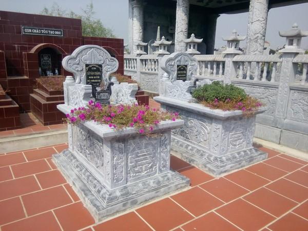 Mẫu mộ đá bành chất lượng cao giá rẻ
