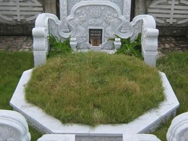 Mẫu ngôi mộ bát giác bằng đá đẹp