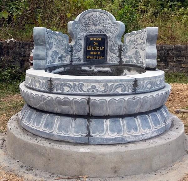 Mẫu mộ tròn đẹp ở Việt Nam