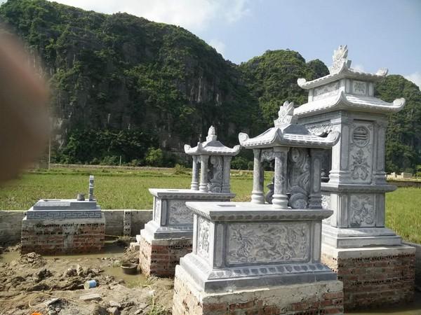 Mộ đá một mái chất lượng tốt giá rẻ ở Việt Nam