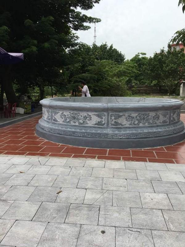 Mẫu mộ đá tròn đẹp ở Việt Nam