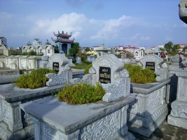 Mẫu ngôi mộ đá bành đẹp