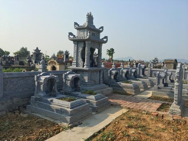 Xây dựng lăng mộ gia đình giúp cho những người thân trong gia đình vẫn được gần nhau ở thế giới bên kia
