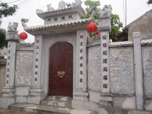 Kích thước cổng nhà theo Lỗ Ban phong thủy