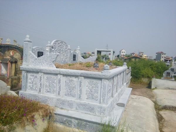 Mẫu mộ đá đôi đẹp thiết kế cao cấp chất lượng tốt giá rẻ