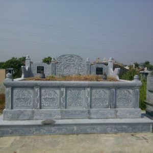 Mẫu mộ đá đôi đẹp thiết kế cao cấp chất lượng tốt giá tốt