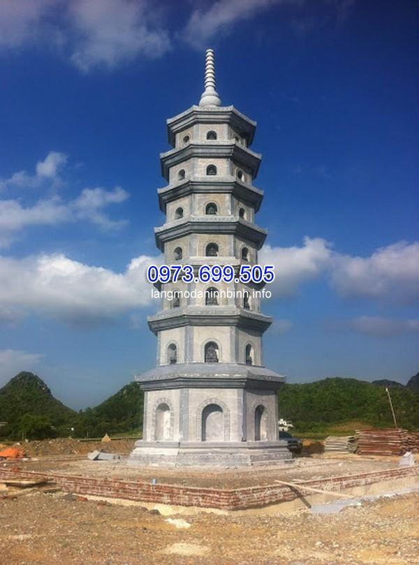 Mẫu mộ tháp đẹp