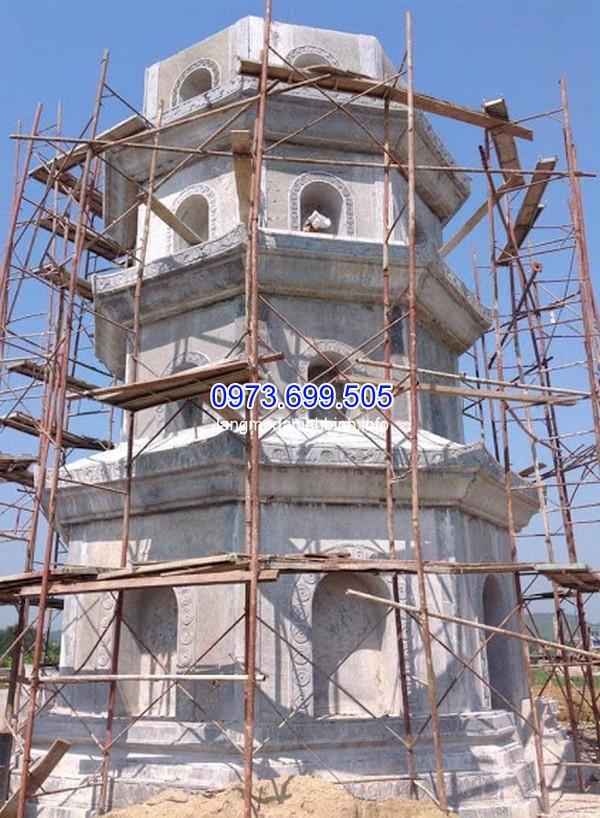 Xây dựng mộ tháp Phật Giáo