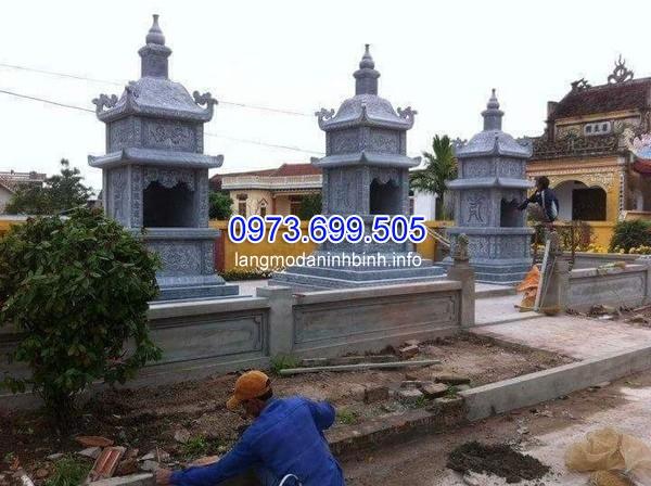 Xây dựng mộ tháp Phật Giáo tại chùa