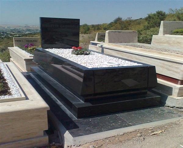 Mẫu mộ đá hoa cương đen đẹp