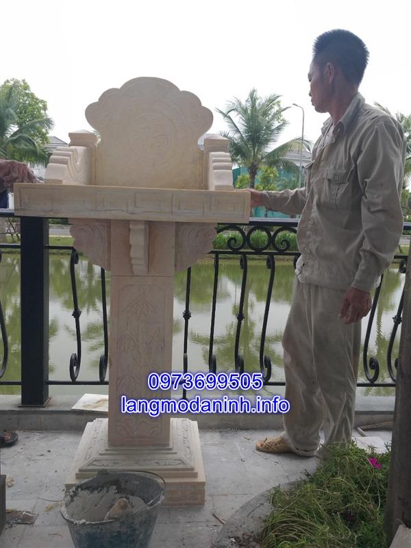 Báo giá khóm thờ đá chính xác nhất tại Ninh Vân Ninh Bình