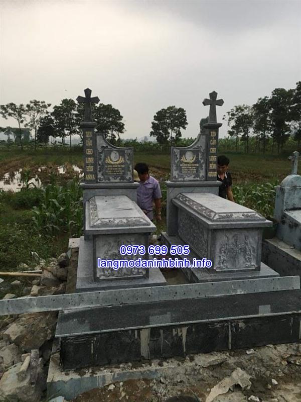 Báo giá mộ thiên chúa giáo bằng đá chính xác nhất hiện nay