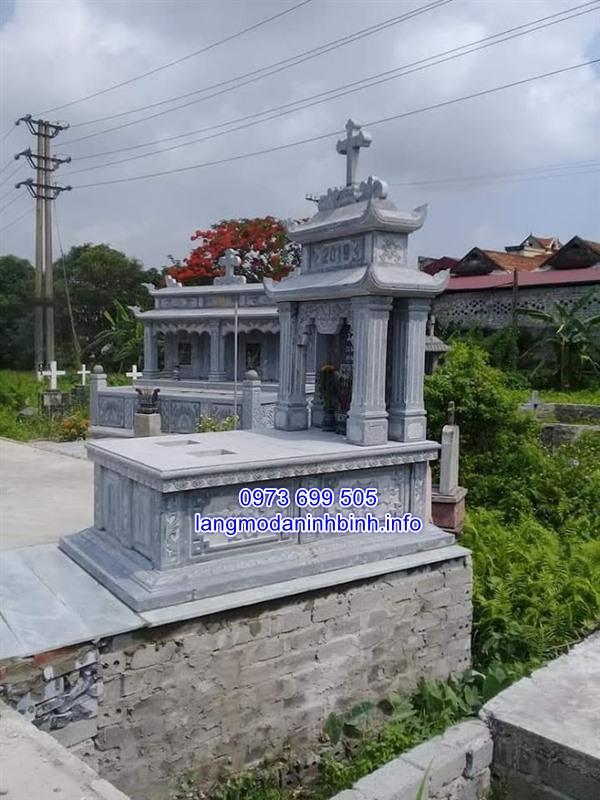 Kích thước mộ của người theo đạo thiên chúa giáo