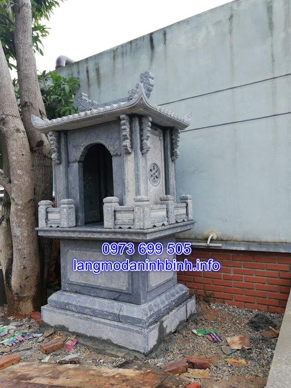 Mẫu am thờ đẹp bằng đá xanh