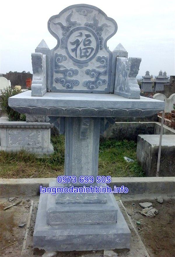 khóm thờ đá không mái đẹp giá rẻ