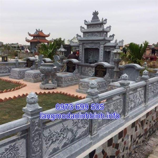 Lăng thờ đá - Khu lăng mộ đá đẹp chất lượng tốt nhất hiện nay