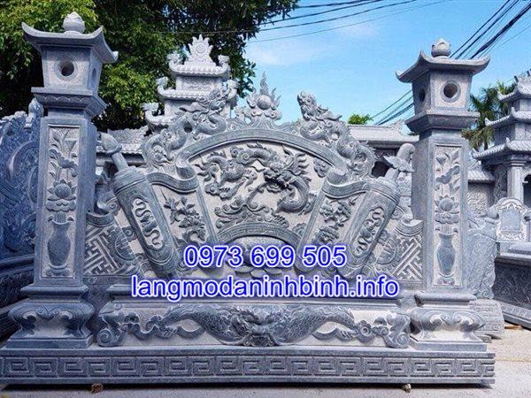 báo giá bình phong đá chính xác nhất tại Ninh Bình