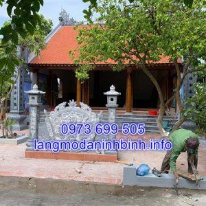 Báo giá cuốn thư đá nhà thờ họ chuẩn nhất tại Ninh Bình