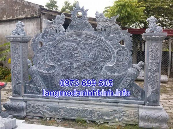 Lắp đặt cuốn thư đá tại Ninh Bình